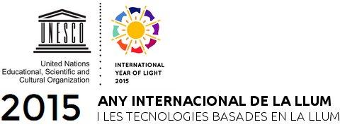 Logotip oficial de l'Any Internacional de la llum i les tecnologies basades en la llum