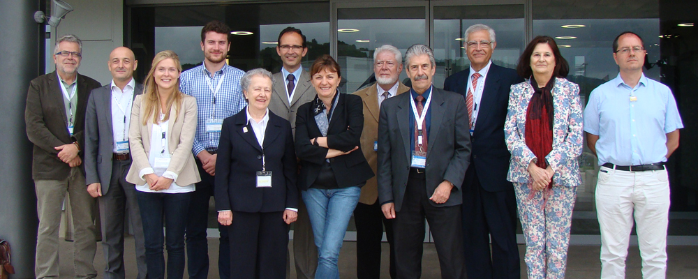 Integrants del Comitè español. Al centre de la foto María Josefa Yzuel i Caterina Biscari