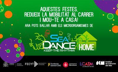 Ja podeu jugar i aprendre ballant amb els microorganismes de #SeaDance_ICM a casa!